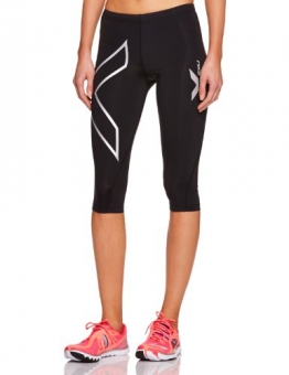 2XU Women's PWX 3/4 Tight Compression Baselayer - Black, Small -