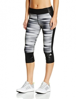Adidas Supernova Women's 3 / 4 Length Running Tights Black black / silver Size:M -