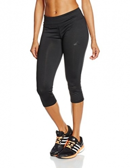 Adidas Women's Basics 3/4 Tights - Black/Black/NEGRO, Medium -