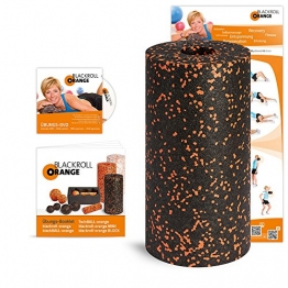 Blackroll Orange (The Original) - Self-massage Roll - Including Training DVD and Exercise Poster - 1