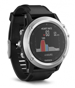 Garmin Fenix 3 HR GPS Multisport Watch with Outdoor Navigation and Wrist Based Heart Rate - Silver Edition - 1