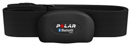 Polar H7 Bluetooth 4.0 Heart Rate Sensor Set for iPhone 4S/5 - Size M-XXL, Black - 1