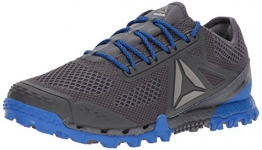 Reebok Mens All Terrain Super 3.0 Sneaker, Black/Ash Grey/Vital Blue, 7.5 UK - 1