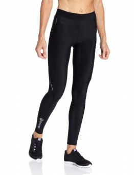 Skins A200 Long Women's Compression Tights - Black/Black, XL -