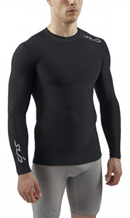 Sub Sports COLD Men's Thermal Compression Baselayer Long Sleeve Top - X-Large, Black -