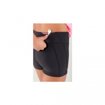 Under Armour Authentic Women's Mid-Length Tight Shorts black (1) Size:L -