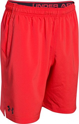 Under Armour Men's Fitness HIIT Woven Shorts Red Rocket Red Size:XL -