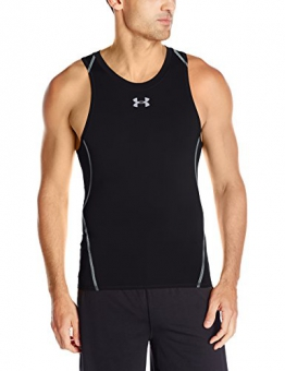 Under Armour Men's Heat Gear Tank Top - Black, Large -
