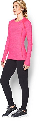 Under Armour Women's Cold Gear Cozy Crew Base Layer - Harmony Red, X-Small -