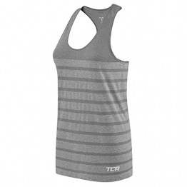 Women's TCA QuickDry SuperKnit Engineered Running / Training Tank - Slate L -