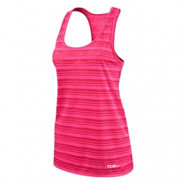 Women's TCA Ultralite Running Tank Sleeveless Vest Top - Berry M -